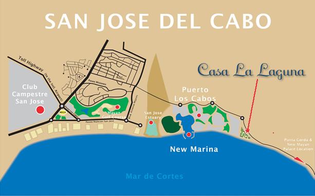 San Jose del Cabo map